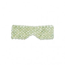 Earth Harbor Jade Gemstone Eye Mask